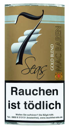 Mac Baren pipe tobacco 7Seas Gold Blend 40g