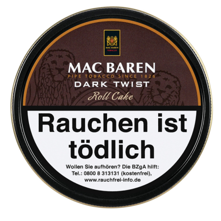 Mac Baren Pfeifentabak Dark Twist 100g