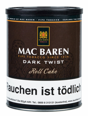 Mac Baren Pfeifentabak Dark Twist 250g