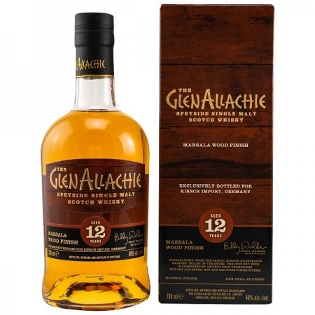 The GlenAllachie Whisky 12 y.o. Marsala Wood Finish exclusive for Kirsch Import