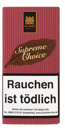 Mac Baren Pfeifentabak Supreme Choice 40g