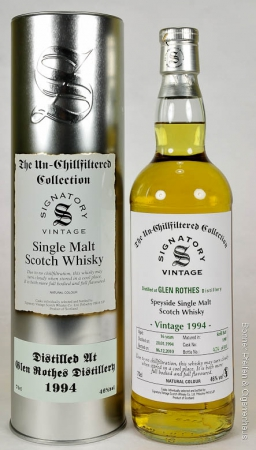 Signatory Vintage Whisky Glen Rothes