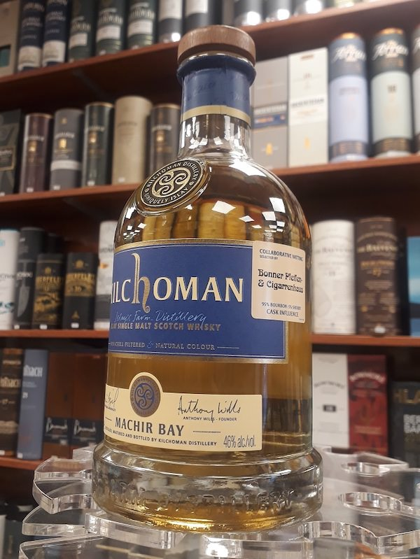 Kilchoman Whisky Machir Bay Collaborative Vatting